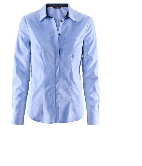 Błękitna niebieska koszula h&m rozmiar 36