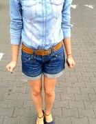 Jeansowy zestaw...