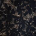 czarna apaszka koronkowa Terranova