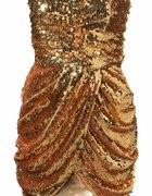 uwaga mega tania asos by rare sequined dress xs 6