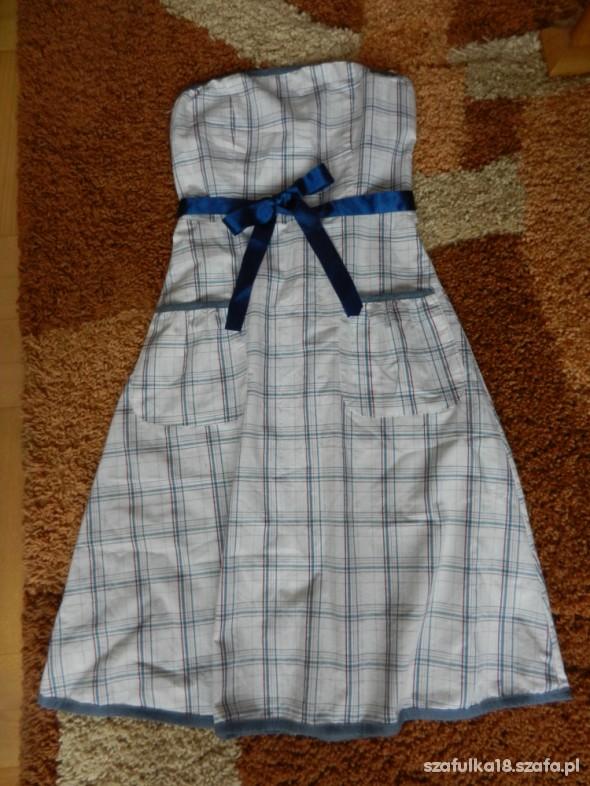 Suknie i sukienki Sukienka w kratke
