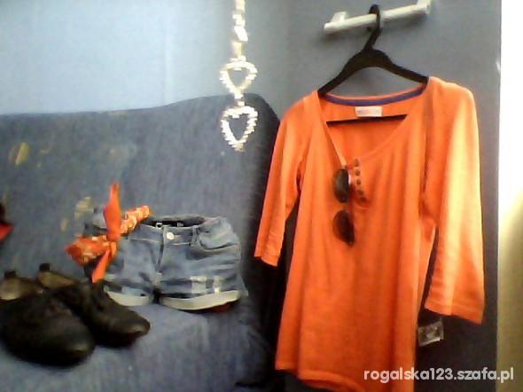 Mój styl pomarańczowe kolorki