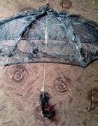 Koronkowa parasolka...