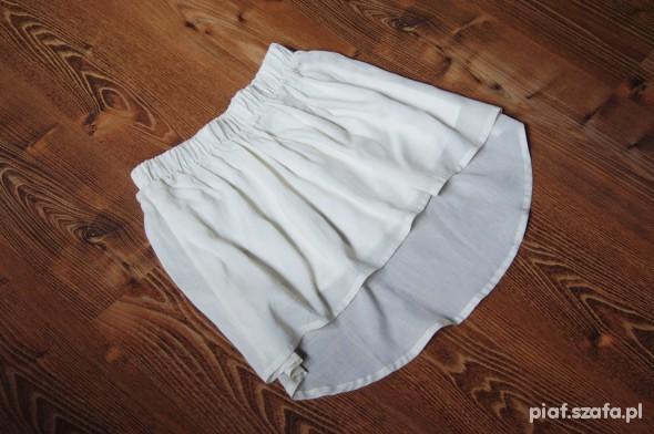 Spódnica Bershka asymetryczna nude r36 NOWA