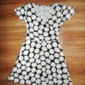 evie sukienka tunika 40 42 grochy