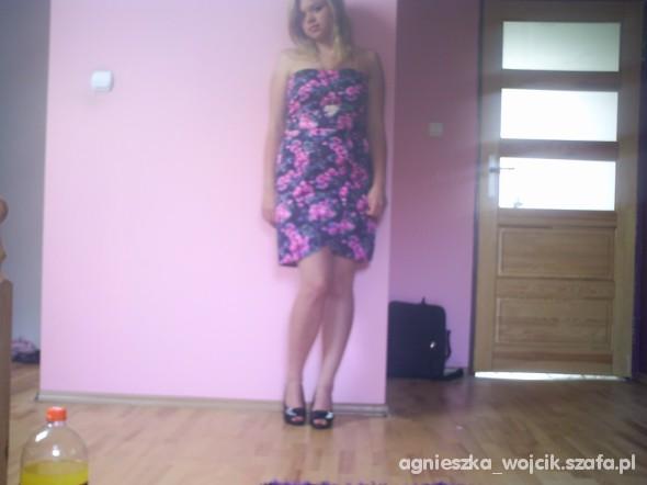 Romantyczne Sukienka w kwiaty