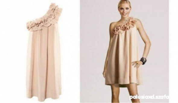 Suknie i sukienki sukienka H&M Socha