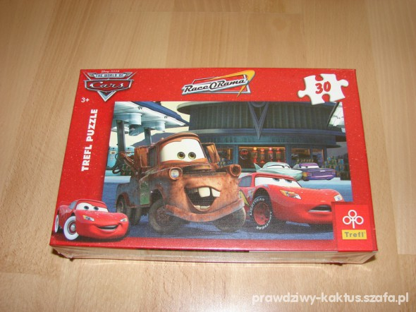 Zabawki puzzle trefl 30 elementów Cars Auta nowe w folii