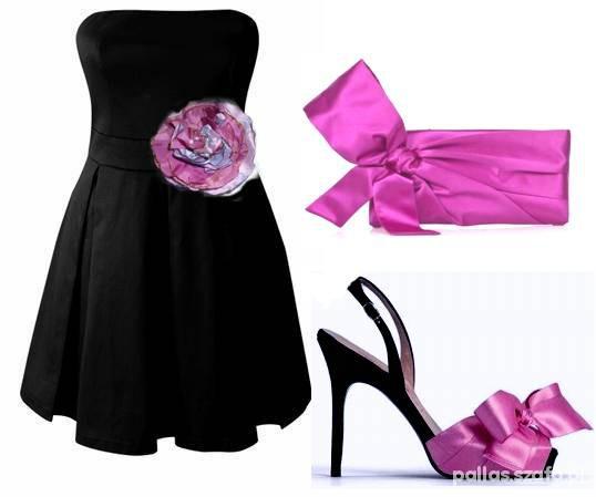 Suknie i sukienki Modna Nowa czarna sukienka 38 lub małe 40