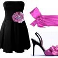 Modna Nowa czarna sukienka 38 lub małe 40