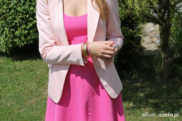 Eleganckie pink power