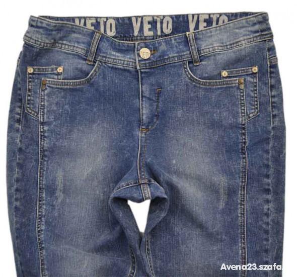 VETO jeansowe rurki ROZ 46 CUDOOO