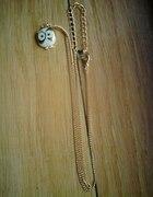 Złoty naszyjnik z sową...