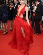 Natasha Poly w sukience Roberto Cavalli