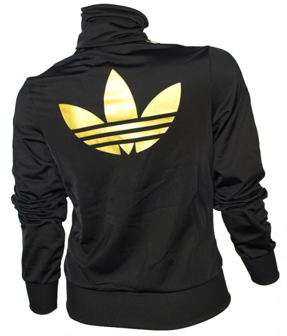 Świeże bluza adidas firbird czarno złota w Ubrania - Szafa.pl YE43