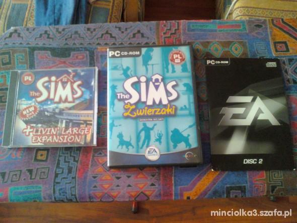 Zabawki Zestaw The Sims i The Sims Zwierzaki