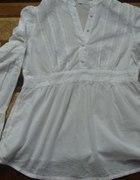 ciążowa biała koszula