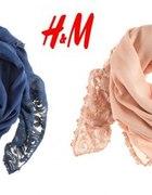 wkrótce pudrowy róż szal koronkowy H and M...