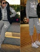 Dresy Japan Style szare D114S