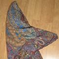 chusta apaszka aztecka boho hippie floral
