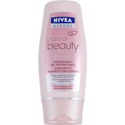 NIVEA natural beauty upiększający żel pilingujący...