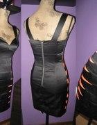 h&m sukienka na wesele czarna tygrysek...
