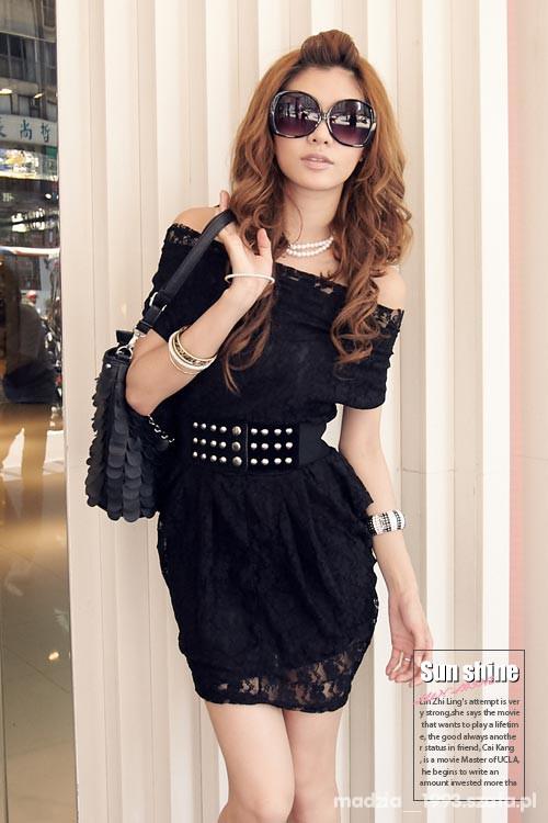 Eleganckie Koronkowa sukieneczka
