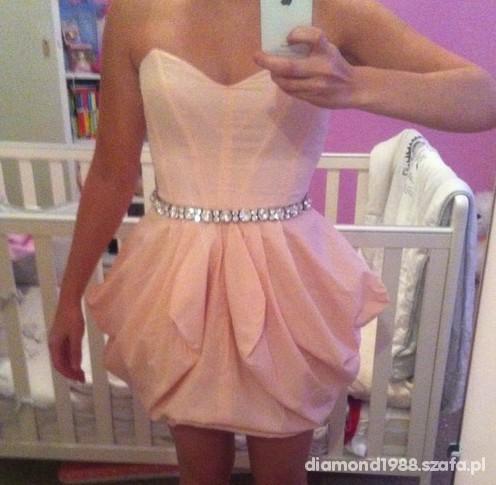 Suknie i sukienki asos nude tulipan cudenko