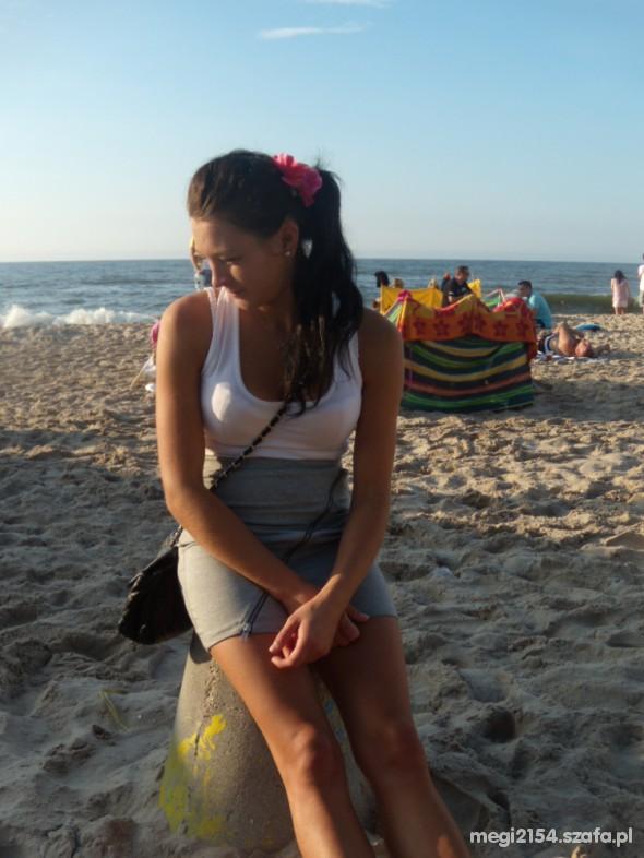 Mój styl Jak widać plażowo spacer po plaży