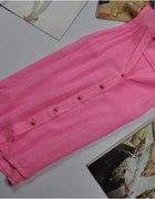 różowy neonek bluzeczka śliczna