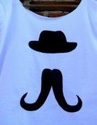 Droopy moustache handmade