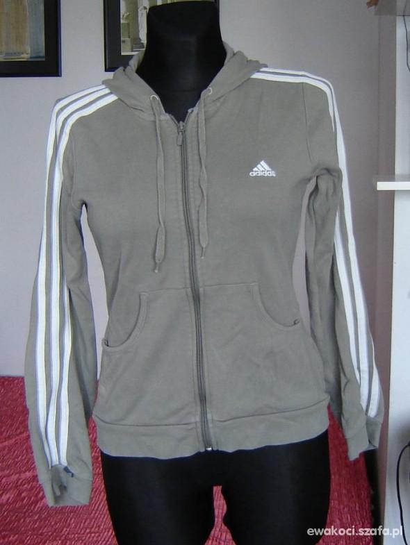 Bluza Adidas na zamek oryginalna 38 40 w Bluzy Szafa.pl