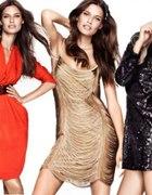 sukienka cekiny h&m