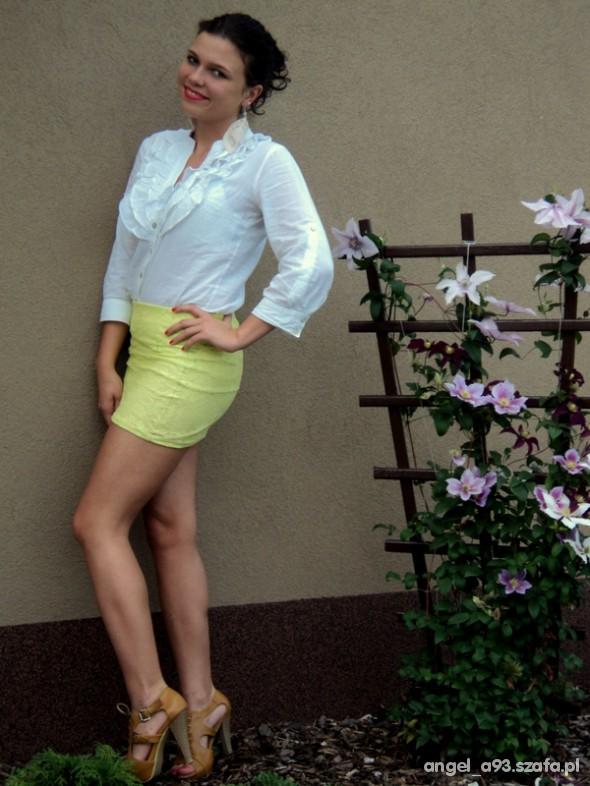 Mój styl nonowa spódniczka