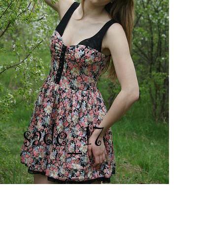 Suknie i sukienki atmosphere sukienka sliczna floral S