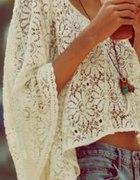 letnia biała koronka