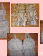 sukienka marmurkowa tally weijl falbanki