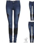 jeansy cubus ze wstawkami