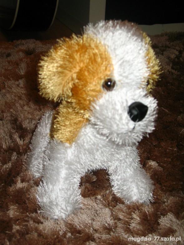 Zabawki śliczny Reksio przytulanka mięciutki piesek
