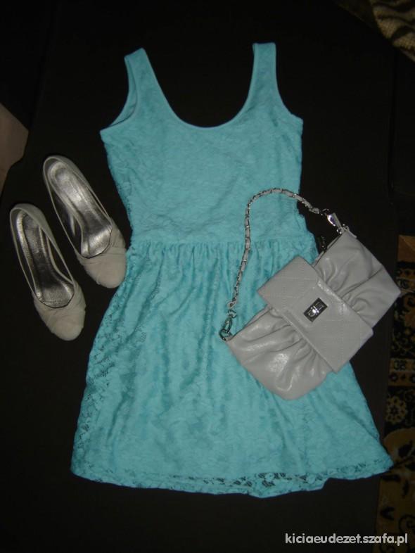 Romantyczne Koronkowa sukienka