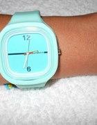 Miętowy zegarek nowy