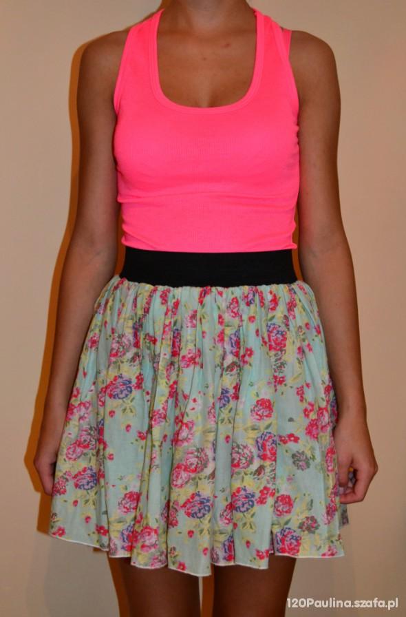 Mój styl Neon & floral