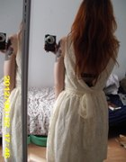 Przepiękna koronkowa sukienka M nowa z metką