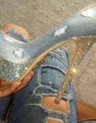 crystals and jeans...