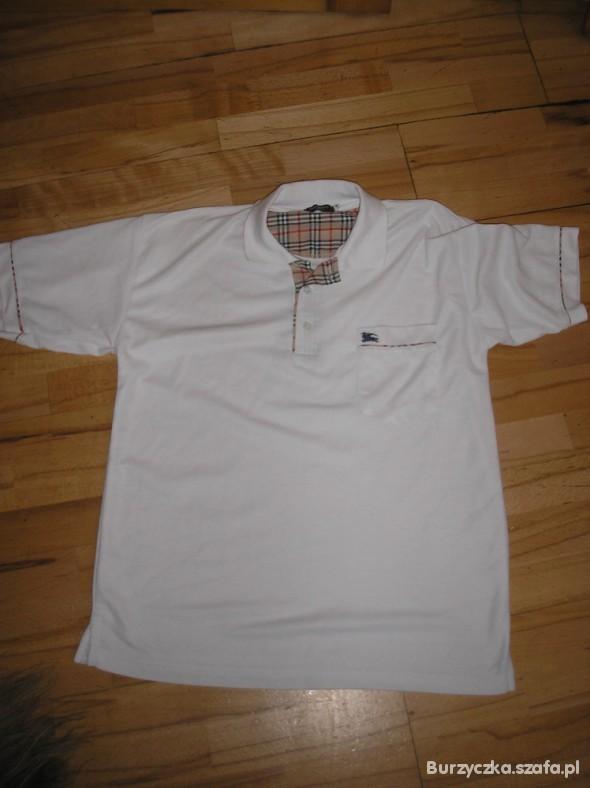 2ab075c13 Męska koszulka Polo Burberry w Koszulki i t-shirty - Szafa.pl