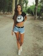 czarny Tshirt
