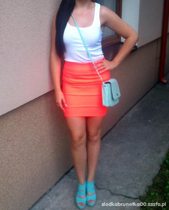 Mój styl orange nad mint