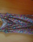 sukienka w kwiatki Cayman...