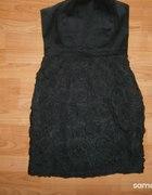 piękna czarna sukienka mohito 38