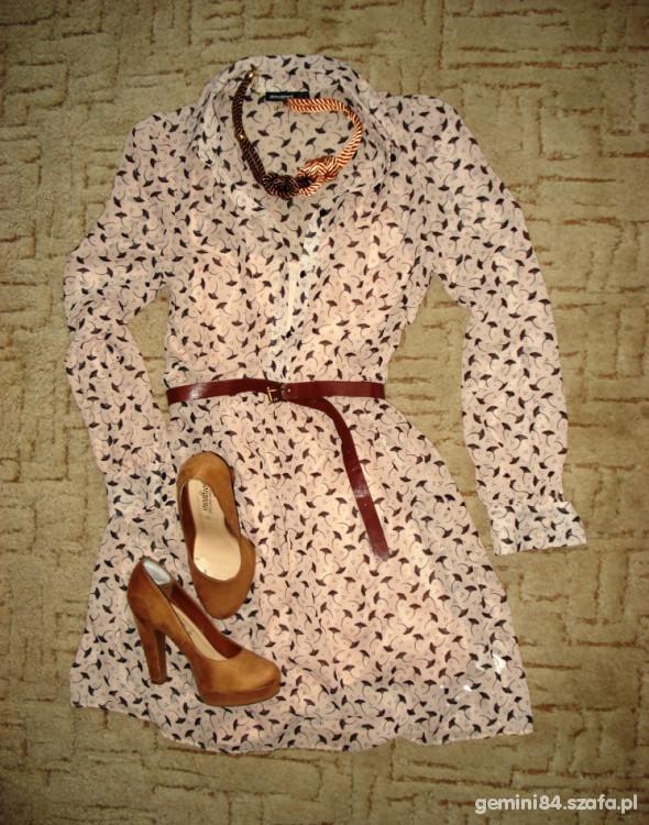 Suknie i sukienki Cudna sukienka mgiełka Atmo 38